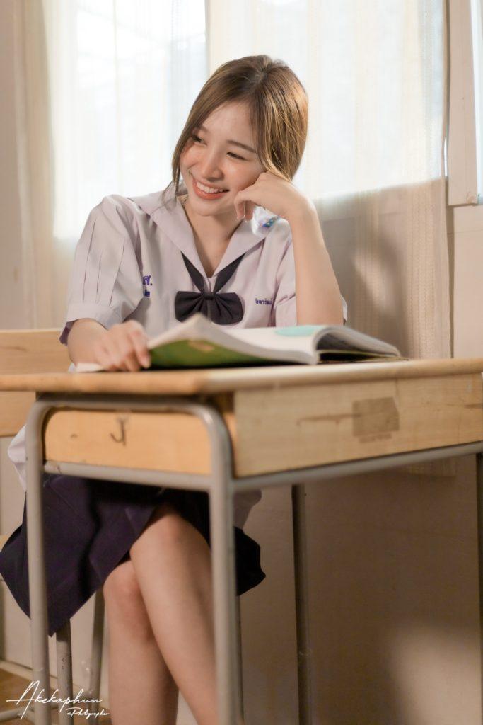 เด็กนักเรียนน่ารัก