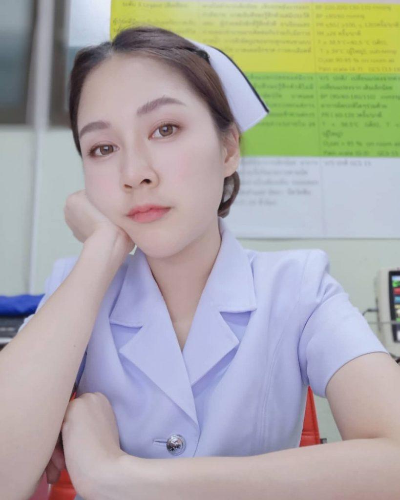 เปิดวาร์ป น้องปอย สาวพยาบาล