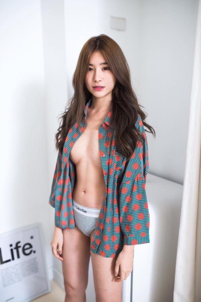 สาวจีนหน้าหมวย