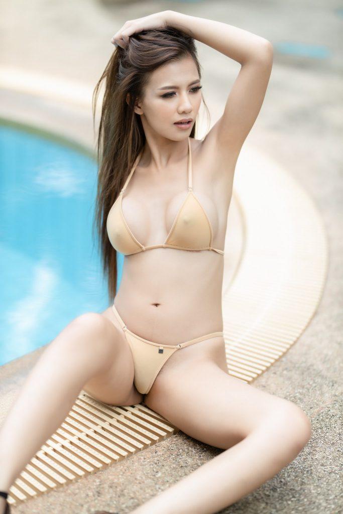 สาวไทยถ่ายแบบ